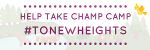 Help take CHAMP Camp to new heights.